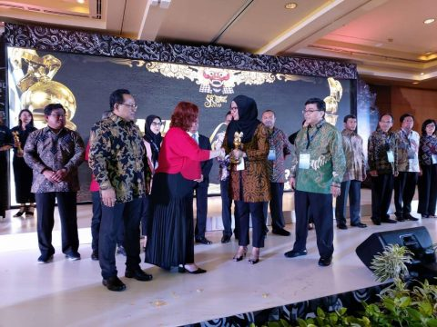 Pertagas Raih Gold Rank di Asia Sustainability Reporting Rating