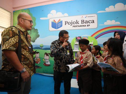 Peduli Pendidikan Indonesia, Pertamina EP Inisiasi Pojok Baca