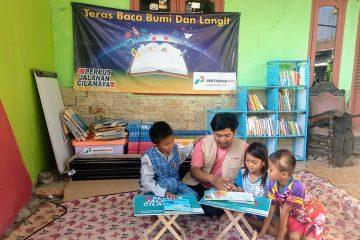Perpustakaan Jalanan Pemacu Minat Baca di Cilamaya