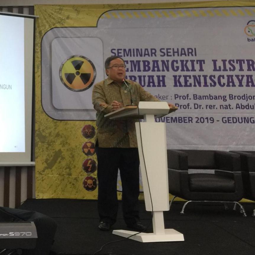 Menristek : Indonesia Miliki Kemampuan Kelola Nuklir untuk Energi