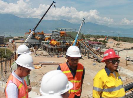 Bumi Minerals Segera Uji Coba Produksi Fasilitas Tambang Emas Poboya