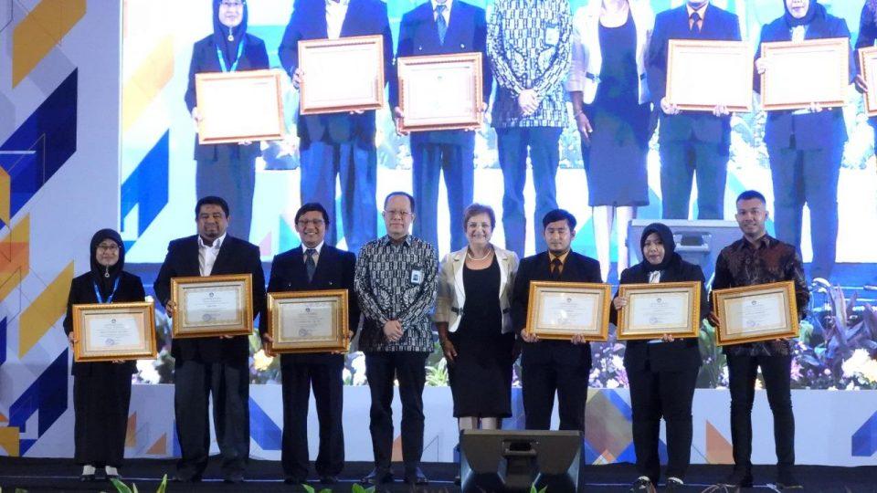Perintis Sekolah Tapal Batas Binaan PEP Tarakan Field Raih Penghargaan Kemendikbud