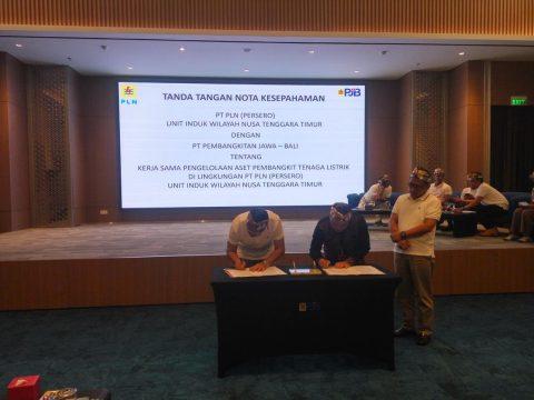 PLN UIW NTT Gandeng PJB Dukung Upaya Peningkatan Rasio Elektrifikasi