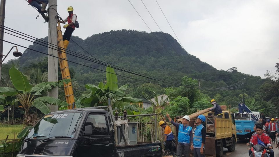 Hingga Jumat Siang, PLN Masih Matikan 743 Gardu Distribusi di Jabodetabek