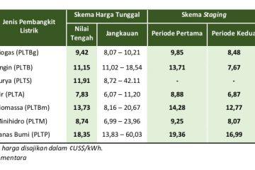 Penentuan Harga, Instrumen Krusial Pengembangan Energi Terbarukan