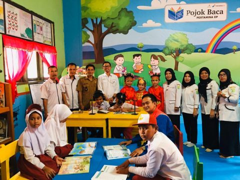 Produksi Tetap Terjaga, Pertamina EP Ramba Peduli Pendidikan Anak Negeri
