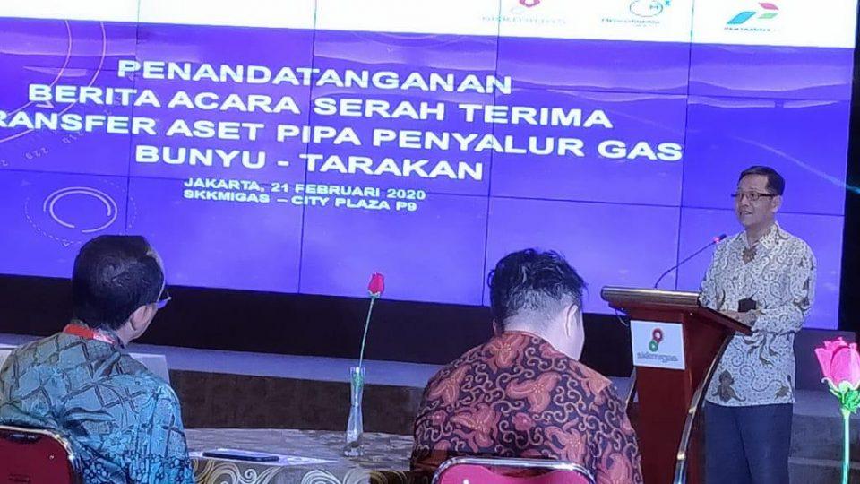 Medco Transfer Pipa Penyalur Gas Sepanjang 31 Km di Kaltara ke Pertamina EP
