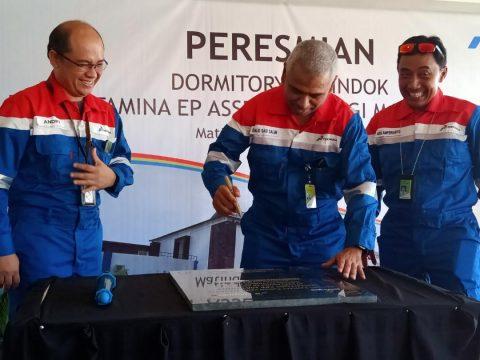 Telan Dana Rp33,5 M, Pertamina EP Operasikan Asrama Pekerja Donggi Matindok Field