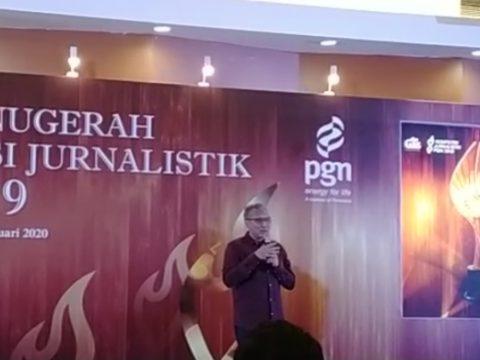 Wartawan Dunia Energi Raih Juara II Kompetisi Jurnalistik PGN 2019