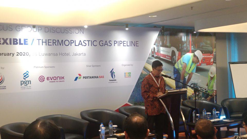 Pipa Gas Berbahan Plastik Polyamide Jadi Alternatif Tekan Biaya Pembangunan Jaringan Gas