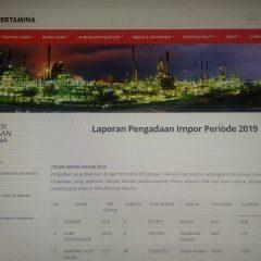 Pertamina Mulai Buka-Bukaan Data Impor Minyak Mentah dan Produk Hingga LPG