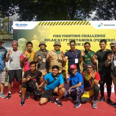 PHI Juara Umum Pertamina Fire Fighting Challenge 2020