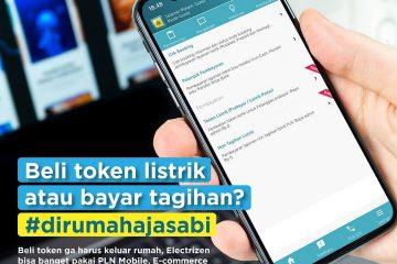 PLN Imbau Masyarakat Bayar Tagihan Listrik Secara Online