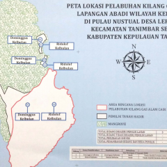 Pengadaan Tanah Pelabuhan Kilang LNG Masela di Pulau Nustual Ditargetkan Rampung Delapan Bulan