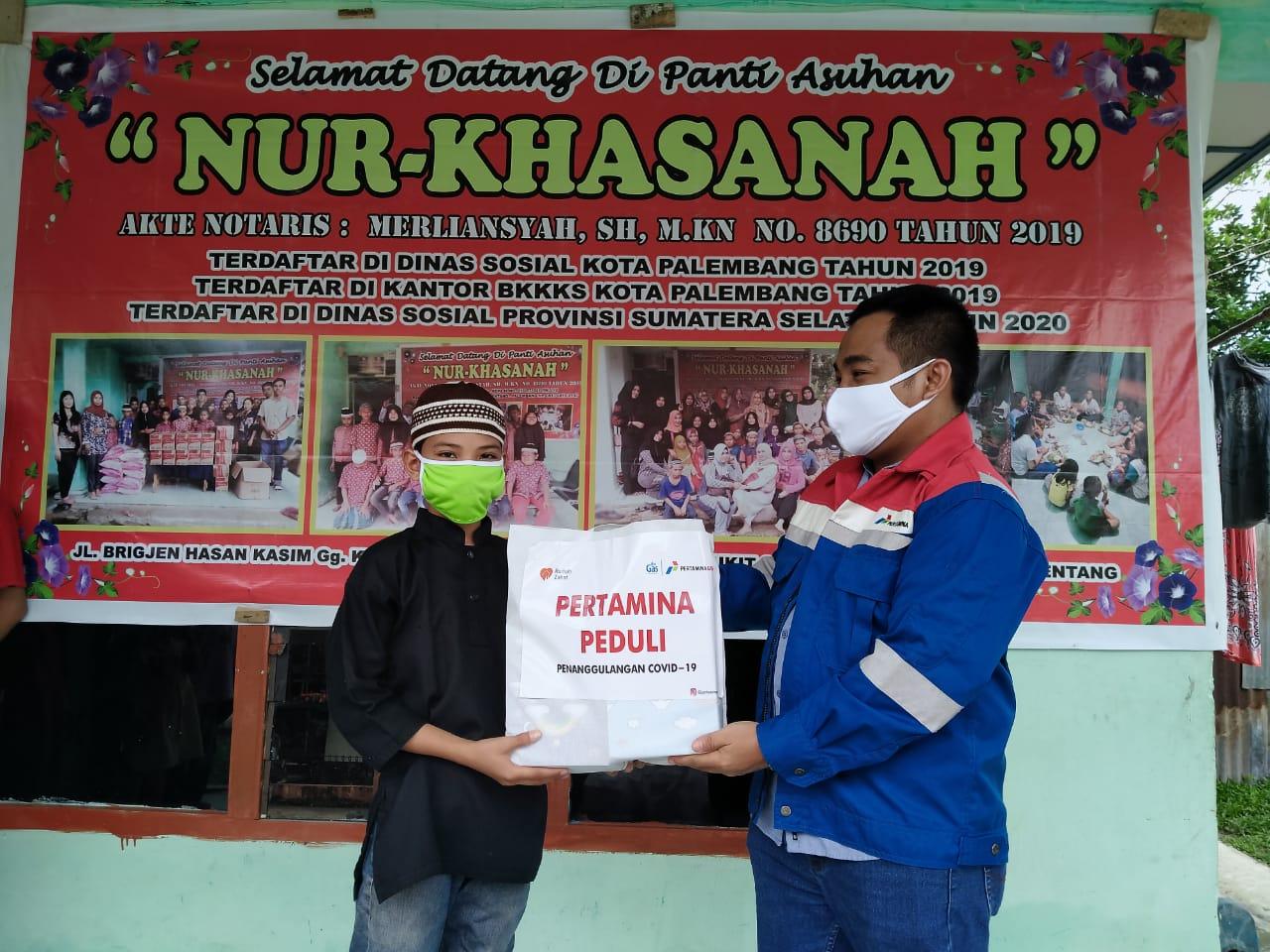 Bantu Penanganan Covid-19, Pertagas Salurkan 1.835 Paket Bantuan kepada Dhuafa dan Yatim