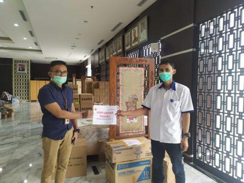 Peduli Pandemi, Pertagas Gandeng Ditjen Migas Kementerian ESDM Salurkan Bantuan