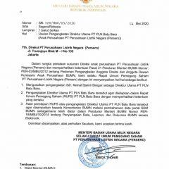 Menteri BUMN Ajukan Bos Arutmin Sebagai Dirut PLN Batubara