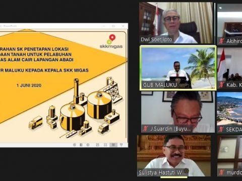 Gubernur Maluku Restui Lokasi Pelabuhan Kilang LNG Abadi di Pulau Nustual