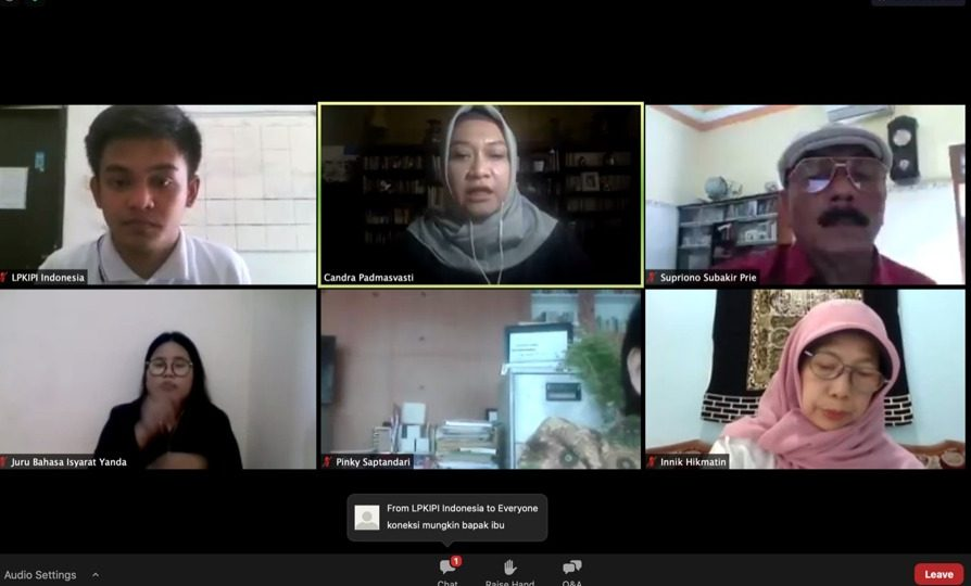 Masa Pandemi, Mitra Binaan Pertagas EJA Gelar Pendidikan Inklusif Secara Virtual