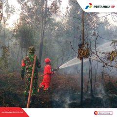Pertamina EP Lirik Field Responsif Atasi Karhutla di Sekitar Wilayah Operasi