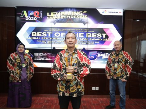 Pertamina EP Kembali Pertahankan Gelar Best Of The Best di Ajang APQ Awards 2020
