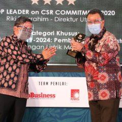 Terapkan Strategi Keselarasan dan Keberlanjutan, Geo Dipa Raih Penghargaan TOP CSR Award
