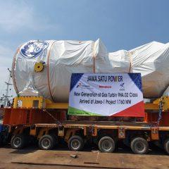 GE Datangkan Turbin Gas Terbesar untuk Pembangkit Listrik Jawa-1