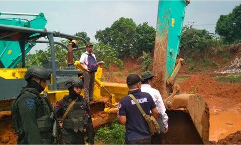 KLHK Tindak Tambang Ilegal di Cileungsi Bogor