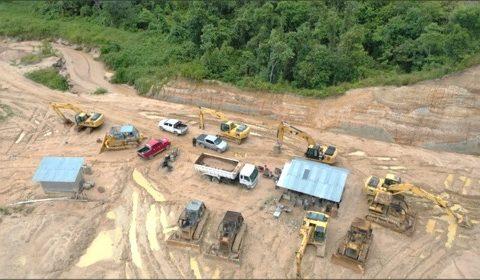Tim Kementerian LHK Hentikan Penambangan Ilegal di Hutan Lindung Remu Sorong