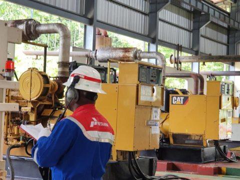 Pertamina EP Papua Field Konversi Bahan Bakar PLTMG Klamono